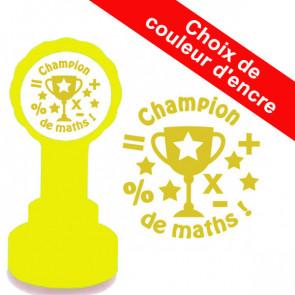 Tampons encreur ecole | Champion de Maths Tampon Pour Enseignants