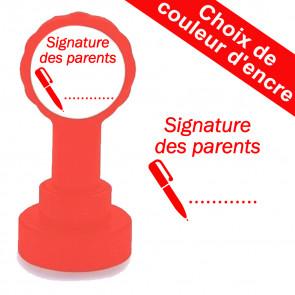 Tampon Auto-encreur | Signature des parents Tampons Auto-Encreurs Enseignants