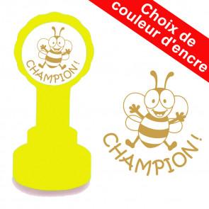 Tampon auto-encreur | Champion ! Tampon appréciation scolaire
