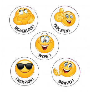 Sports Day Stickers | GOLD Stickers in Shiny Finish.