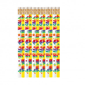 Teacher Gift & Prize Pencils | Music Note Design Pencil for Schools