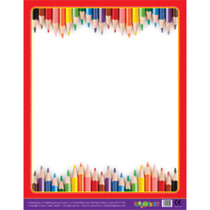 Classroom Teacher Resources | Crayons Design Wipe Off Poster