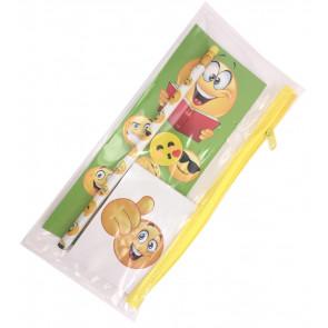 Emoji Gift   Filled Emoji Pencil Case with Stationery & Games!