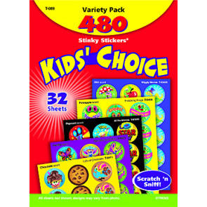 Childrens Stickers | Kids Choice Smelly Stickers for School