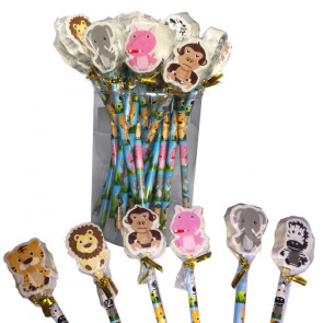 End of Term Gifts   Owl Design Pencils with Large Owl Eraser Topper