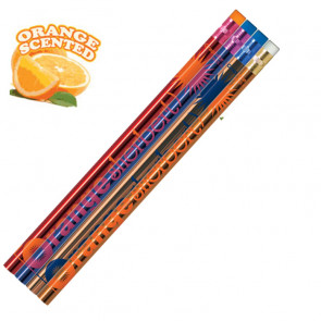 Smelly Pencils | Pack of 12 Chocolate Smelling Pencils. 4 Different Designs Per Pack