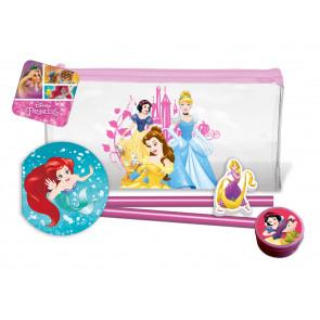 Petits cadeaux | Trousse et Ensemble Papeterie Princesses Disney.