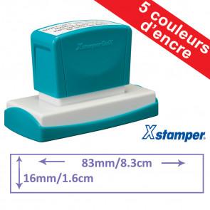 Tampon personnalisable | Xstamper Quix 16 x 83mm, Auto-encreur