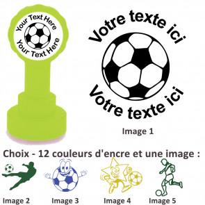 Tampons Encreur | Images Football - Tampon Personnalisé Pour Enseignant