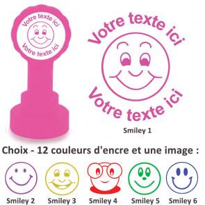 Tampons Encreur | Images Smiley - Tampon Personnalisé Pour Enseignant