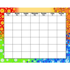 Wall Calendars | Four Season Design Wipe-off Calendar